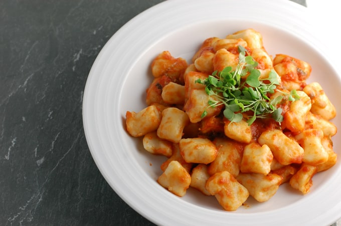 vegan no egg potato gnocchi