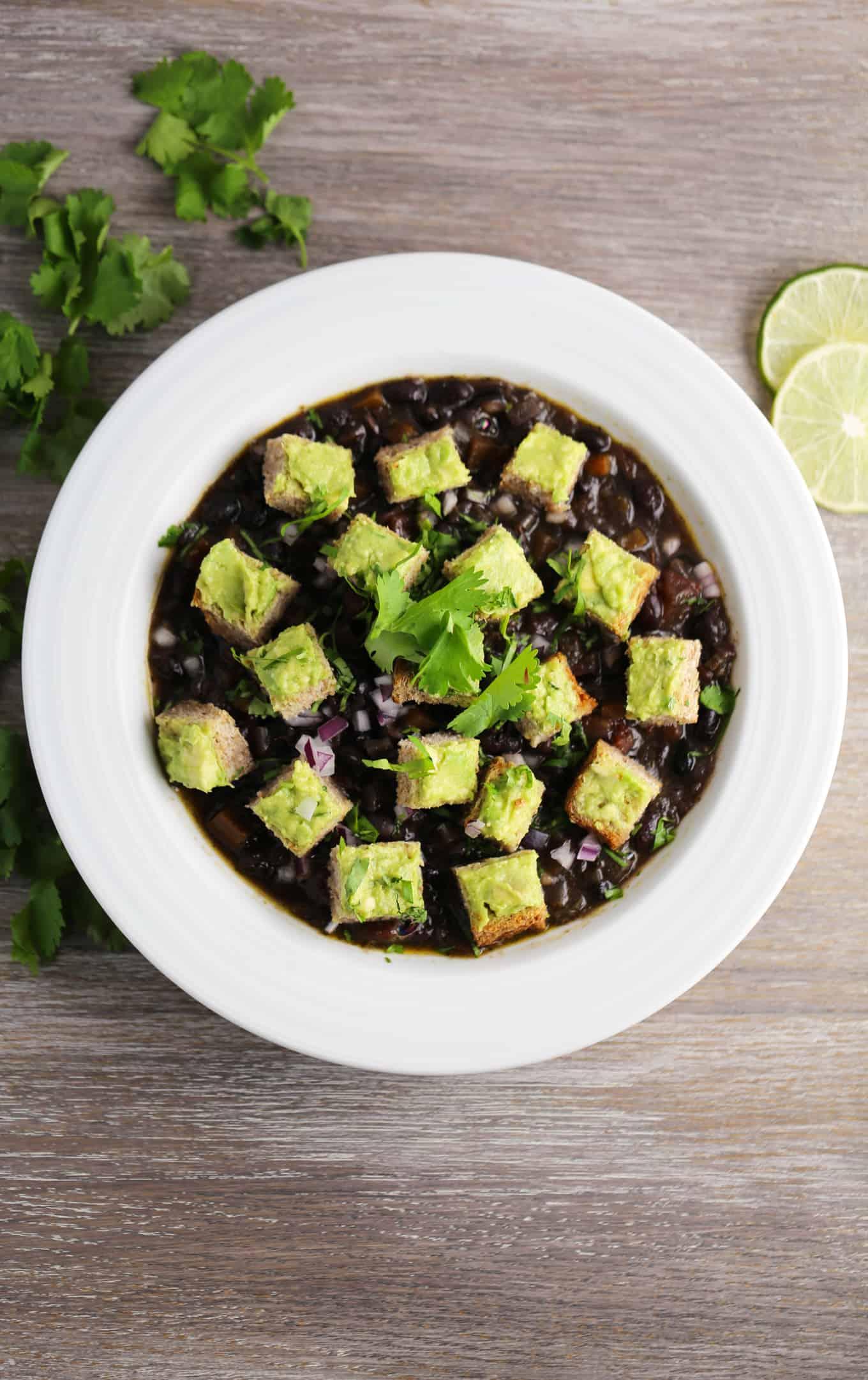 instant pot black bean soup