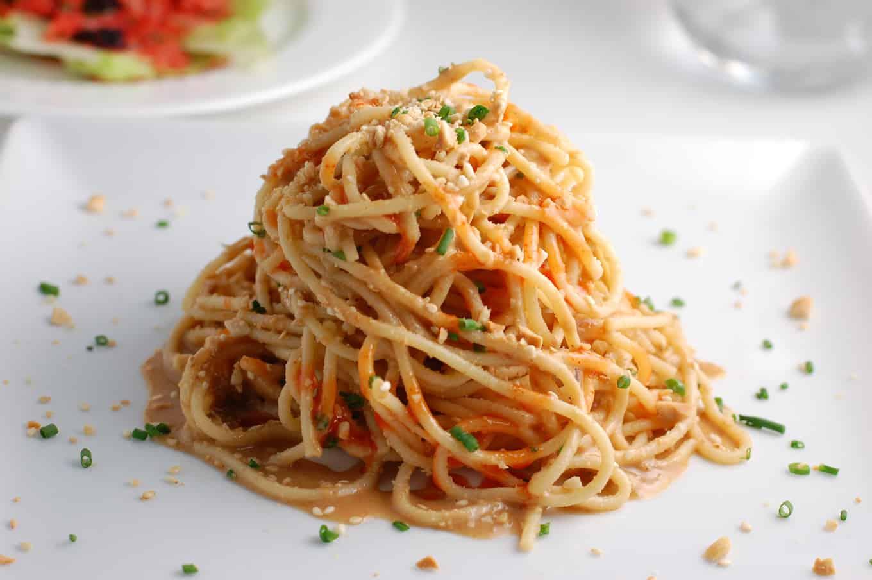cold sesame noodles peanut sauce