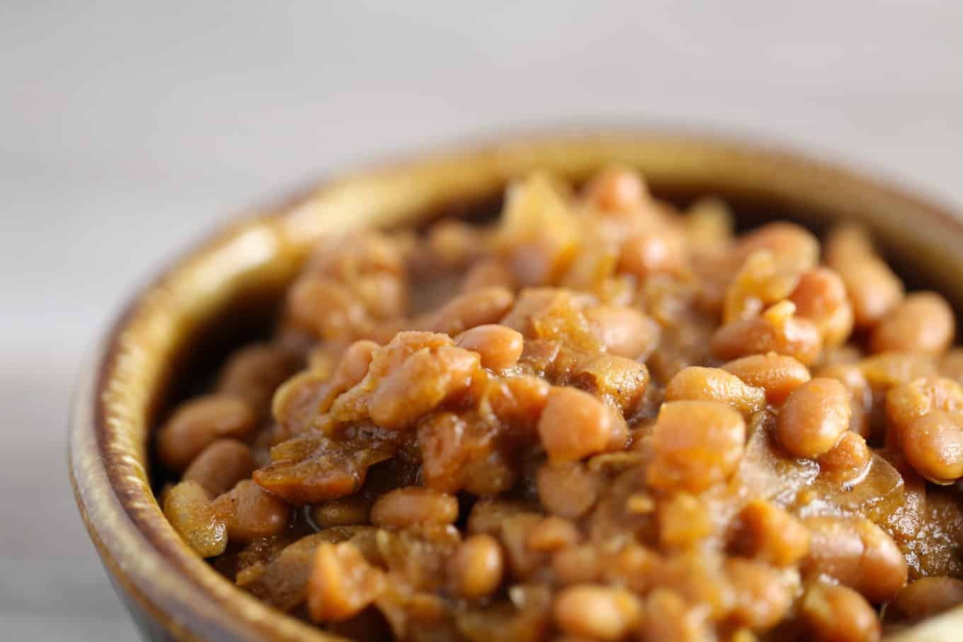 vegan Boston baked beans